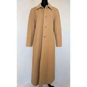 Worthington Long Tan Pea Coat